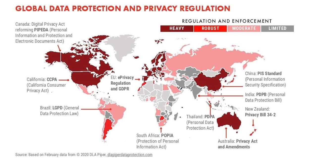 Global Data Privacy Regulations